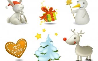 Christmas theme icons