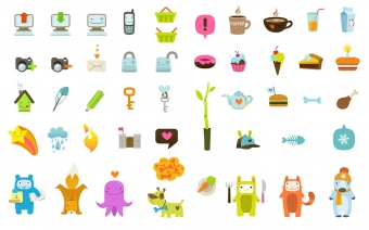 Ultra Cute icon set