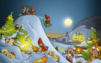Christmas Calendar Pixel Illustration