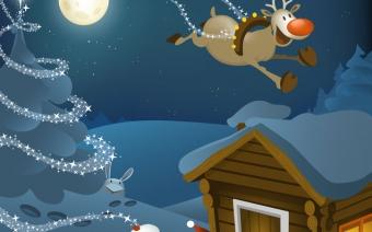Christmas Calendar Vector Illustration