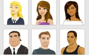 Game Avatars Character Design