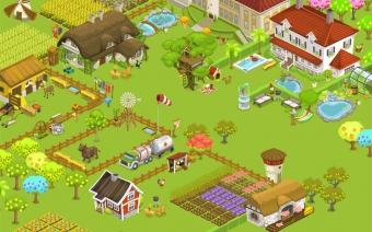 Farm Game Vector Graphics