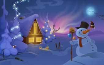 Christmas calendar for 2012